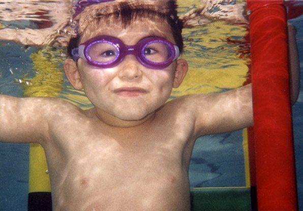 Underwater Preschool Swimming Class